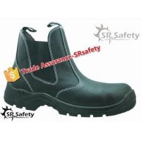 SRSAFETY new style 2015 popular comfortable leather shoes industrial working safety equipment for sale