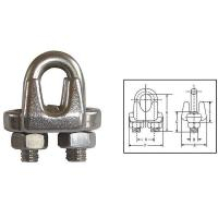 Wholesale G450 US Type Drop Forged Wire Rope Clips from china suppliers