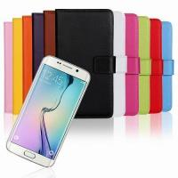 Samsung Plain Real Leather Case