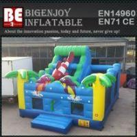 Wholesale multiplay bouncer ocean inflatable bouncer slide from china suppliers
