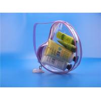 Purples gift transparent pvc jewelry bag