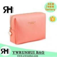 Wholesale Wholesale Latest Designer PU Leather Cosmetic Bag Promotional from china suppliers