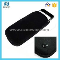 China Small useful delicated adjustable neoprene cell phone case on sale