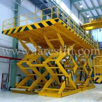 China Hydraulic Scissor Lifts Product name:hydraulic stationary scissor platform lifts on sale