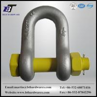 SHACKLE G2150 drop forged d shackle with safety pin