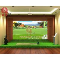 Wholesale 3D Indoor Golf Simulator Game Machine Professional from china suppliers