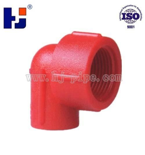 Quality Reducer Elbow PPR Red For Water Supply Fitting F34 for sale
