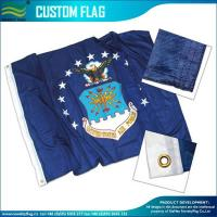 China Custom Made Flags 120gsm Knitted Polyester Custom Flags on sale