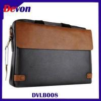 Wholesale Devon Brown Leather Laptop Travel Bag from china suppliers