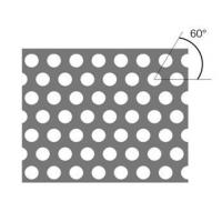 Decorated Perforated Metal Sheet