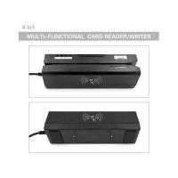 Wholesale ZCS80 ISO Qualified USB/RS232 4-in-1 Magnetic/IC/RFID/PSAM Reader Writer from china suppliers
