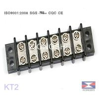 Wholesale Feed Though Terminal Block Home Three-Phase Terminal Block KT2 300V 400V 660V 30A from china suppliers