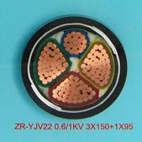 Wholesale Power Cable  ZR-YJV 0.6/1KV 3 150+1 95 from china suppliers