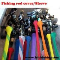 colorful fishing rod covers/sleeves