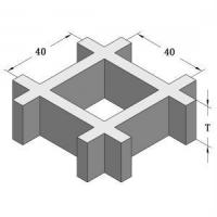 Wholesale Molded Grating Specifications 40*40mm from china suppliers