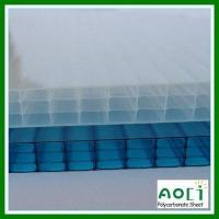 Wholesale 16MM Fourwall Polycarbonate Roofing Panel from china suppliers