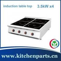 Wholesale commercial quadruple burner induction top from china suppliers