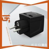Wholesale Worldwide travel adapter universal grounded plug from china suppliers