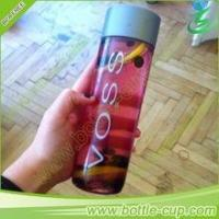 Buy cheap 400 ml portable voss water glass bottle/voss water bottle/voss fruit and beverage bottle from wholesalers