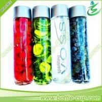 Buy cheap 400 ml mineral voss water glass bottle/voss water bottle/voss fruit and beverage bottle from wholesalers