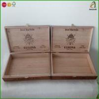 Wholesale Empty Wood Cigar Box Supply,Ideal for Gift Storage or Display from china suppliers