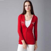Buy cheap 2016 Classic Red Ladies Knitted Cardigan from wholesalers