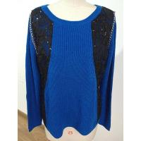 Buy cheap 2016 Fashion Knitted Top With Sequin And Chain On Front from wholesalers