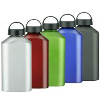 Buy cheap Rectangle one 1000ml Single wall Aluminum Bottle from wholesalers
