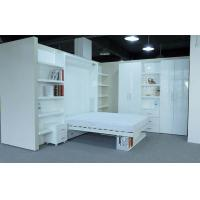 China Space saving wall bed with bookshelf on sale