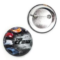 Buy cheap OEM promotional metal safety tin button badge from wholesalers