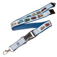 Quality lanyard PRODUCT Discount double layers nice neck lanyards badge for sale