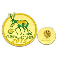 Buy cheap lanyard badge Customized shaped 3D badge lapel pin with printing logo from wholesalers