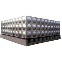 China Introduction on Mingxing Stainless Steel Square Water Tank for sale