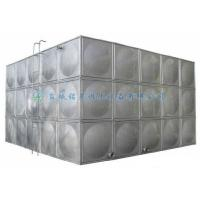China Specifications and Models of Mingxing Stainless Steel Square Water Tank for sale