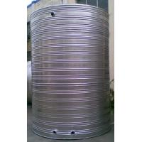China Price of Mingxing flattop energy storage stainless steel thermal insulation water tank for sale