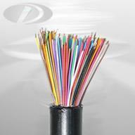 communication cable HYAT solid insulated filled telecommunication cable