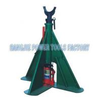 Triangle hydraulic pay-off stand