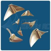Wholesale 2 blades dia 60 Brass CNC Propellers from china suppliers