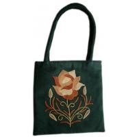 Suede Leather Ladies bag (HAND EMBROIDERY)