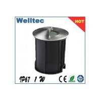 Buy cheap LED floor light 1w stainless steel cover,stainless lamp body from wholesalers