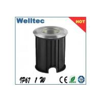 Buy cheap stainless steel lamp body of led underground lighting 1w ip67 from wholesalers