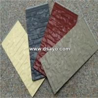 Wholesale Metal embossed surface composite insulation Panel -Exterior wall insulation board #DSO6001 from china suppliers