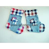 Buy cheap 16x20cm Christmas cloth hanging boots from wholesalers