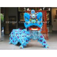 Wholesale Chinese wool lion dance set for adult from china suppliers