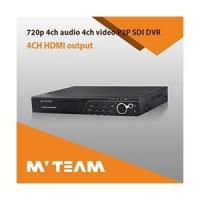 H.264 Hd Sdi 720p Dvr With 2pcs HDD (MVT-H6504)