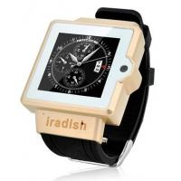 Wholesale Gold-i6 2G/3G Smart watch phone Android 4.0 peration system from china suppliers
