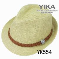 China 2013812174142High quatliy ladies straw cowboy hat on sale
