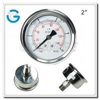 "Wholesale 2"" Back entry stainless steel pressure gauges from china suppliers"