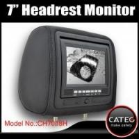 Wholesale 7 inch car headrest TV monitors / car backseat monitors for back seat entertainment system CH7018H from china suppliers