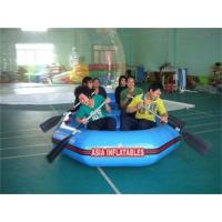 Wholesale 6 Person Blue Inflatable Rafting Boat from china suppliers